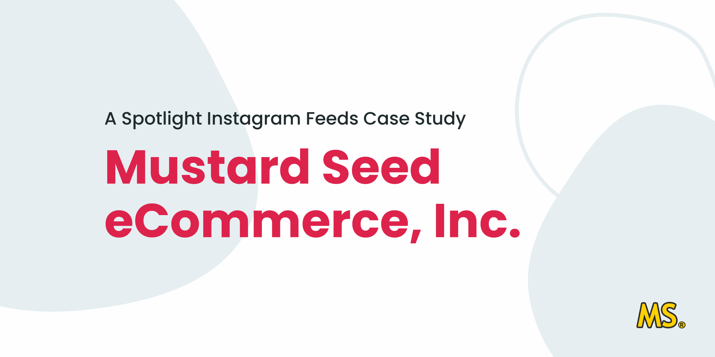 Spotlight Instagram Feeds Case Study - Mustard Seed eCommerce, Inc.